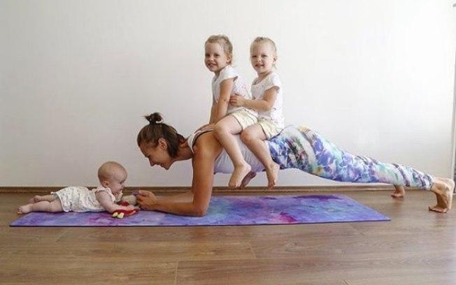entrenar con niños pequeños en casa
